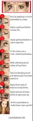 this is how i do my eyeshadow too but i would use lighter colors brown