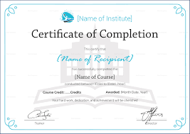 Certificate Of Training Completion Template 031 Certificate Of Completion Template Free Training Format