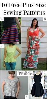 Sewing Patterns Plus Size