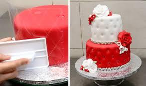 Quilted Cake Decorating Idea by CakesStepbyStep - YouTube &  Adamdwight.com