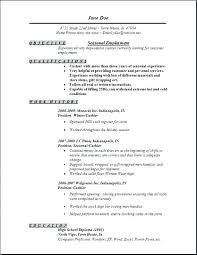 Resume Format Usa Fascinating Usajobs Resume Format Foodcityme