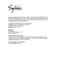 Cover Letter Samples For Secondary Teachers Lezincdc Com