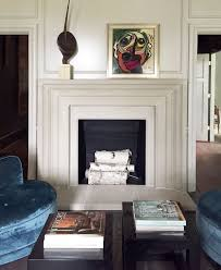 Fireplace Mantels Pictures Design The Classic Mantel Design Has A Simple And Clean Linear