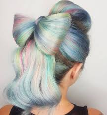 Pastel Hair Color Style By