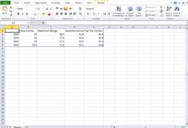 Excel T Chart Template Make A Chart In Powerpoint And Excel