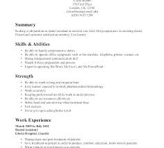 Special Skills Resume Examples How To Make A Resume Resume Skills