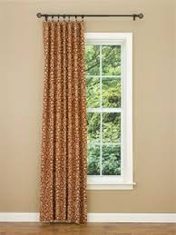 single panel curtain. Terracotta Aubrey Lined Single Curtain Panel 56\ N