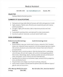 Medical Administrative Assistant Skills And Experience For