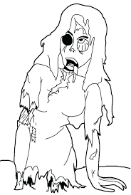 Zombies Coloring Page For Kids Coloring Pages Disney Channel