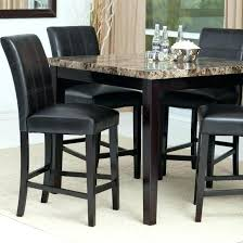 high kitchen table sets tall end modern dining