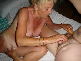 Free grannie hand job