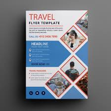 Travel Flyers Posters Design Templates For Free Template For