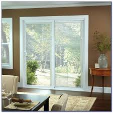 sliding door with blinds wonderful doors patio built in vertical parts do
