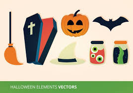 <b>Halloween Elements</b> Free Vector Art - (1,546 Free Downloads)
