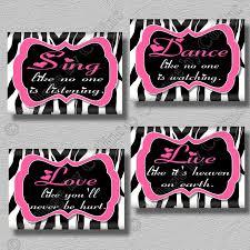 Pink And Zebra Bedroom Pink And Black Zebra Bedroom Accessories House Decor