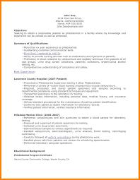 6 Phlebotomy Resume Childcare Resume