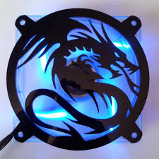 fan grill. amazon.com: custom acrylic flying dragon computer fan grill 120mm: computers \u0026 accessories m