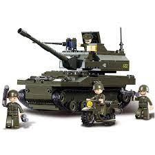 Bộ Đồ Chơi Lego Xếp Hình Xe Tăng Thú Vị Cho Bé