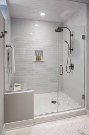try one of these inspiring design concepts to dress up your bathroom shower tile and glass