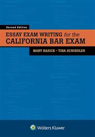 Bar Exam Essays Essay Exam Writing For The California Bar Exam Second
