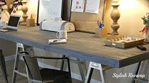 127 office desks for home amazing diy home office desk 2 black