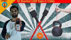 <b>Mi Braided USB Type</b>-<b>C</b> Cable | Unboxing | Testing | Overview ...