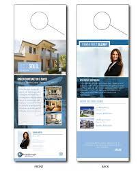 real estate door hanger templates. Just Sold Door Hangers Hanger Real Estate Templates A