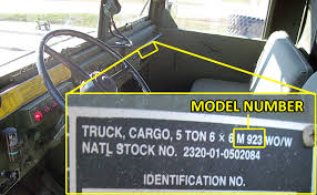products military truck and vehicle parts oshkosh equipment where s my model number
