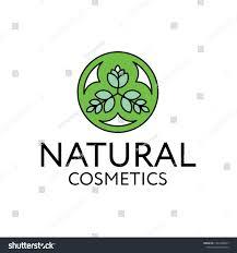 Shampoo Logo Design Logo Design Natural Cosmetics Suitable Placement Stock