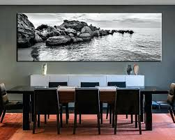 black and white wall decor 1 piece large canvas dining room artwork black and white canvas on wall art decor images with black and white wall decor 1 piece large canvas dining room artwork