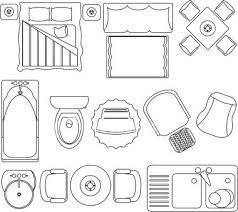 floor plan furniture symbols. Floor Plan Clip Art. Floor Plan Furniture Symbols S