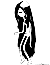 Small Picture marceline from adventure time Coloring pages Printable