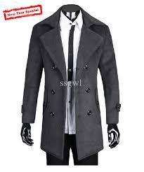 2016 fashion men cashmere wool coat jackets outerwear winter windproof wool coats plus size slim fit thickening male coat canada 2019 from ssgwl