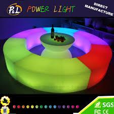color changing led light up outdoor furniture