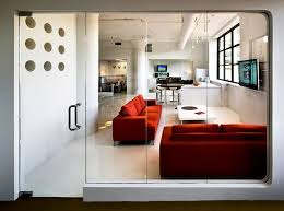 design studio office. client lounge animation studio office interior design um project brooklyn nyc