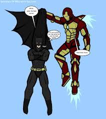 batman vs iron man batman superman iron man