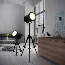 vintage industrial floor lamps vintage floor lamp black tripod floor light for living room retro industrial