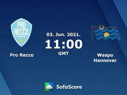 Pro Recco Waspo Hannover Live Ticker und Live Stream - SofaScore