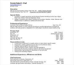 9 Cook Resume Templates Pdf Doc Free Premium Templates