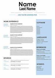 All you to build a good cv. Cv Sample In Doc Format Download For Word Free Resume
