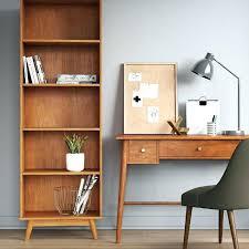 mid century modern bookshelf. Mid Century Modern Bookcase Legs 5 Shelf Project Target Brilliant Shelving Regar Bookshelf