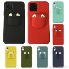 NEW Cell Phone Cases For Airpods 1 2 Cover And Liquid Silicone Case For IP  12 Pro Max XS Max XR XS X 8 7 6 6s Plus Custom Leather Cell Phone