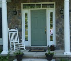 front doors with side panelsColonial Style Green Painted Oak Wood Front Door With Mirrored