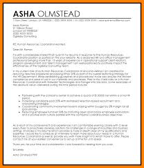 6 Cover Letter For Human Resource Positions Hr Cover Letter
