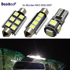 2007 Ford Fusion Dome Light Wont Turn Off Us 12 2 39 Off Deechooll 10pcs Car Interior Light Bulb Kit For Ford For Mondeo Mk3 2000 2007 Canbus Map Sun Visor Dome Lights Lamps In Signal Lamp