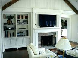tv stand built in fireplace cabinet for over fireplace above built in flat screen stand