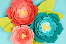 Easy Paper Flower Giant Paper Flowers Template Tips And Tricks To Make It Easy
