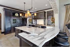 Rustic Kitchen Designed With Mission Style Island Lighting  Regarding Sizing 1900 X 1267