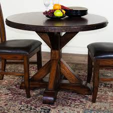 appealing dining room furniture medium brown wood standard pedestal cabin tiny round mirrored laminated gray small round dining table set pallet fir wood