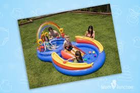inflatable swimming pool for kids. Modren Pool Swimming Pools For Kids  INTEX Inflatable Rainbow Ring Water Play  Center With Pool L